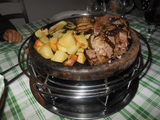 La Cantina di Dante : carne alla piastra e patate II
