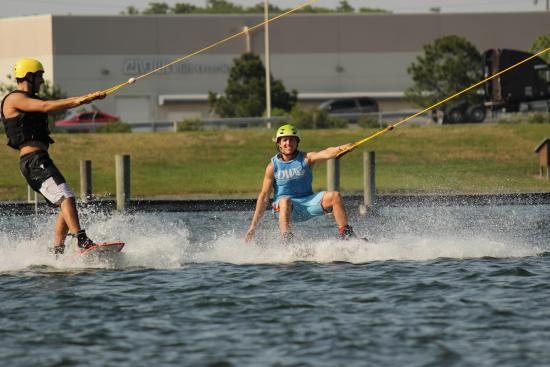 Orlando Watersports Complex : Hangout with our coaches