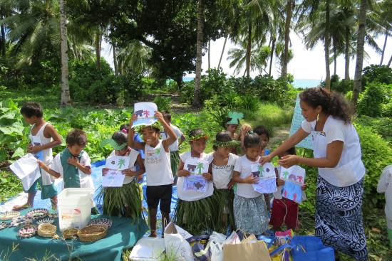 Fanning Island, Republiek Kiribati: School Children