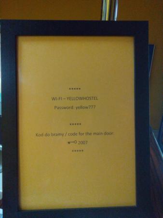 Hostel Yellow: Yellow Hostel Recepcja