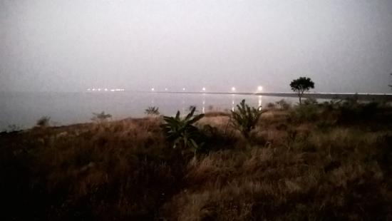 bargi dam from resort