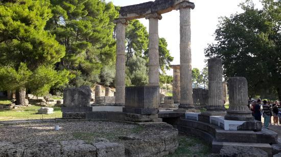 Olimpia antica (Archaia Olympia): Philippeion