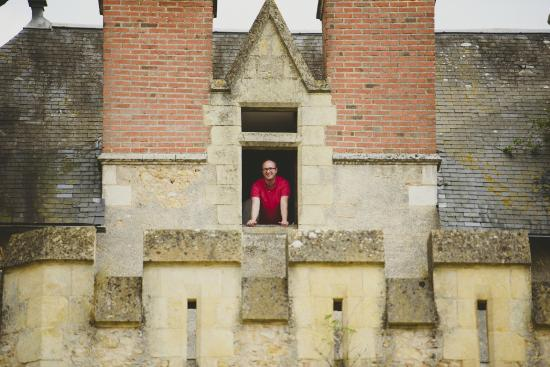 Saint-Loup-Lamaire, Francia: Chambre du Nid d'Aigle dans le Donjon du Château de saint-loup sur thouet