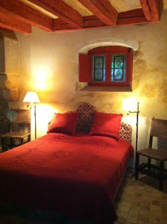 Saint-Loup-Lamaire, Frankreich: Chambre du Prince Noir dans le Donjon du Château de saint-loup sur Thouet