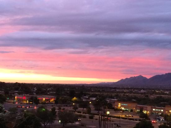 Hilton Tucson East: View from room