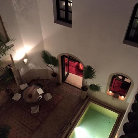 Riad Tajpa: Patio
