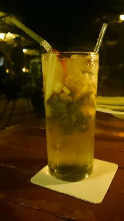 Bay View Point: Raisins in a Mohito, but it was pretty nice.