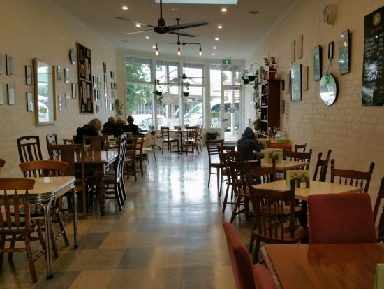 The Good Food Store: Looking out to Howe Street