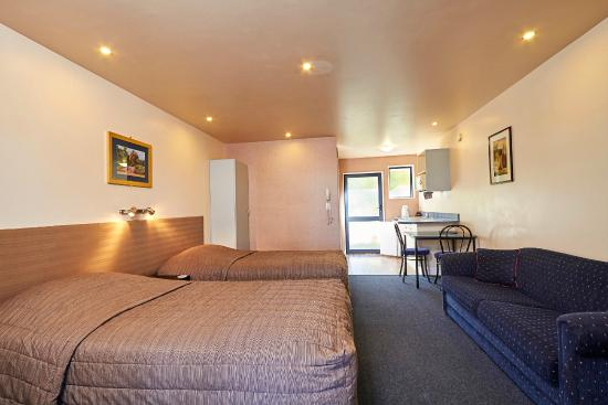 Mediterranean Motel Kaikoura: Twin Single studio