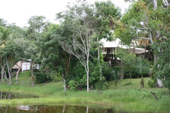 Villa Maya: VISTA DEL RESTAURANTE