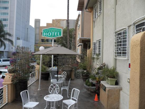 Hollywood celebrity hotel breakfast attendant