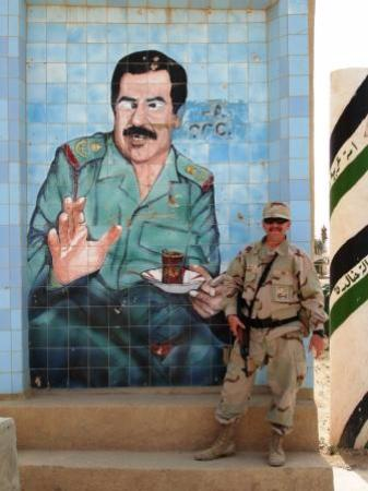 Pottstown, Pensilvania: Tea with Saddam