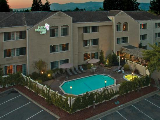 Napa Winery Inn: Hotel Over View