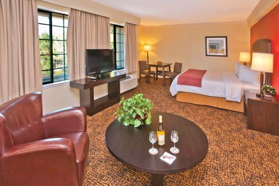 Napa Winery Inn: Suite Sitting Area
