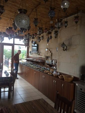 Saruhan Hotel: Frühstücksraum