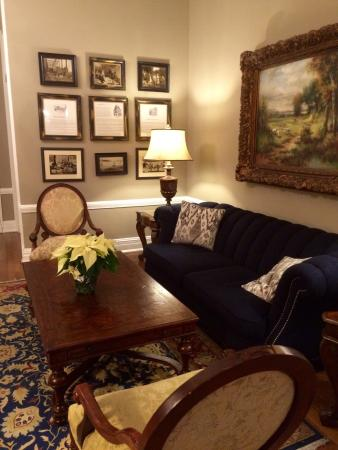 Historic Inns of Annapolis: The parlor at the Maryland Inn.