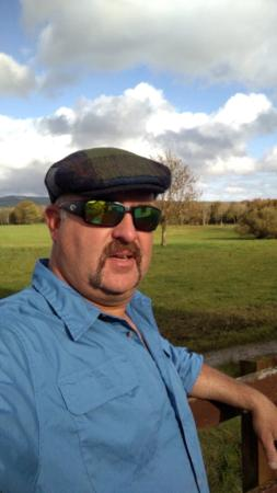 Bodyke, Irland: My new hat in the sun