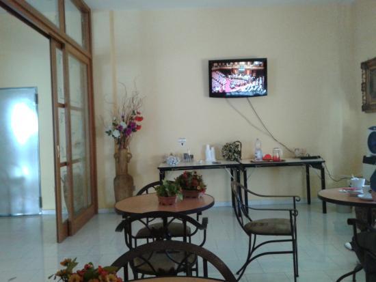 Hotel Aurelio: sala colazione