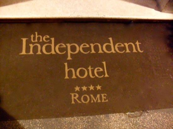 Picture of the independent hotel rome for List of independent hotels