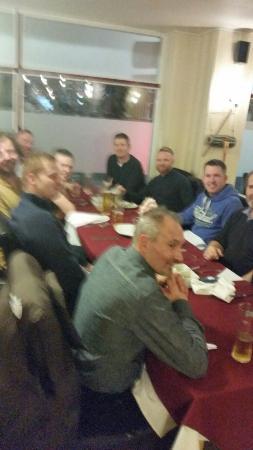 Long Eaton, UK: Bt work party at mount gurkha spice
