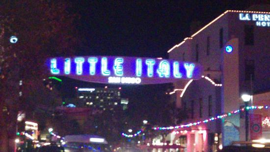 Window View - Filippi's Pizza Grotto Little Italy Photo