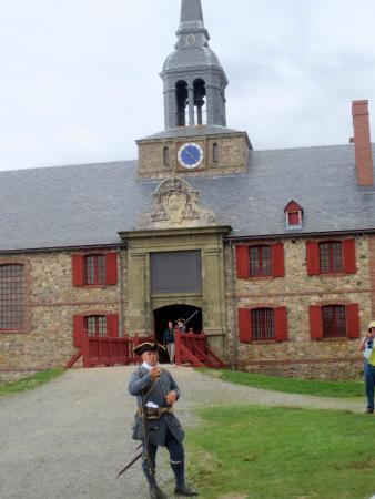Louisbourg, Kanada: Soldier