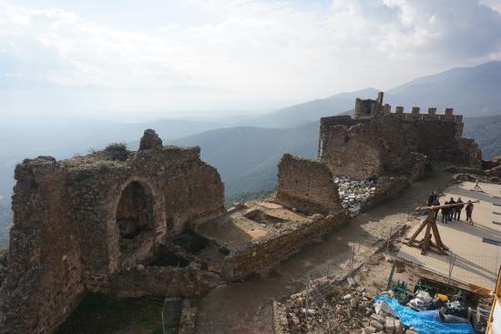 Arbucies, Spagna: Zona de la capella gótica