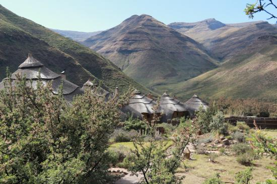Maliba Mountain Lodge: le site