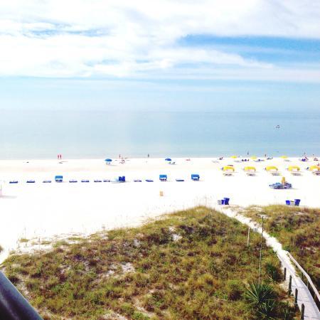 Gulf Strand Resort: view from balcony