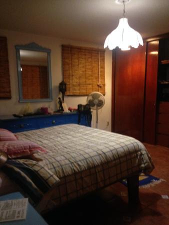 El Zopilote Mojado: habitacion