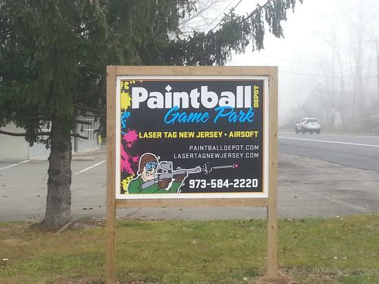 Belvidere, NJ: our new sign