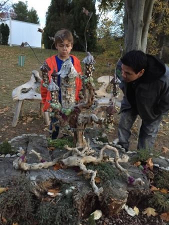 Old Lyme, CT: Fairy houses: Castles