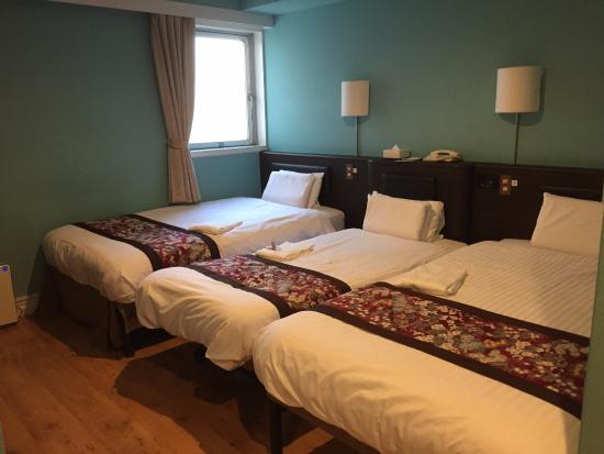 Dotonbori Hotel: 難波道頓堀飯店房間