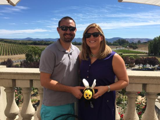 Napa Valley, Kalifornien: At Domaine Carneros Winery with Napa Bee Driven