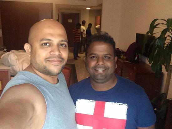 Star Metro Al Barsha: With Amila