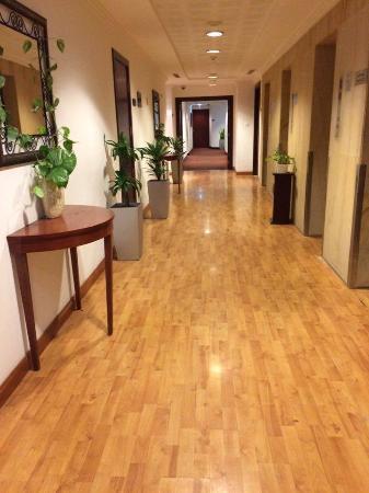 Star Metro Al Barsha: Entrance Corridor to the rooms