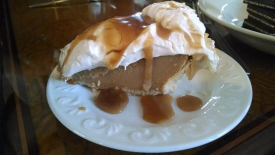 "Mountain City, TN: LuAnne's ""made-from-scratch"" butterscotch pie.  OMG!"