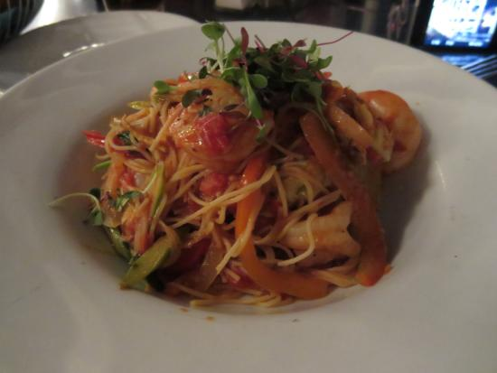 Sauteed Shrimp And Angel Hair Pasta Picture Of Ariel S Grotto
