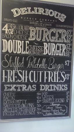 Delirious Burger Company