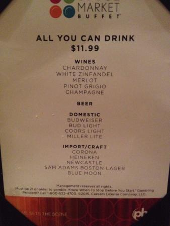 all you can drink menu picture of spice market buffet las vegas rh tripadvisor ie cosmopolitan las vegas buffet menu rio las vegas buffet menu