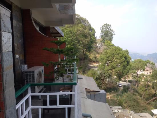 Kasauli Exotica: Room Balcony