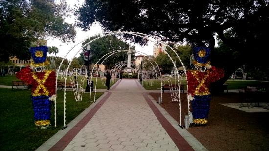Lakeland, FL: The park is guarded by magnificent toy soldiers!