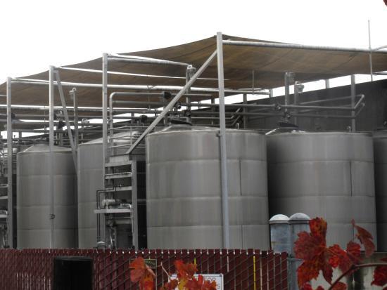 Tank Processing Area, Beaulieu Vineyard, Rutherford, Ca