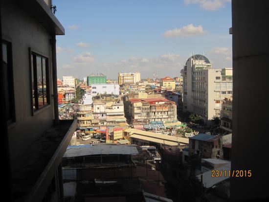 Diamond Hotel: вид на город