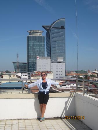 Diamond Hotel: на крыше отеля