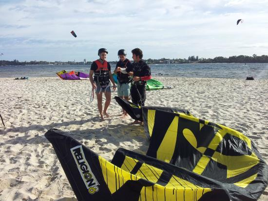 Applecross, Австралия: kitesurf lesson river