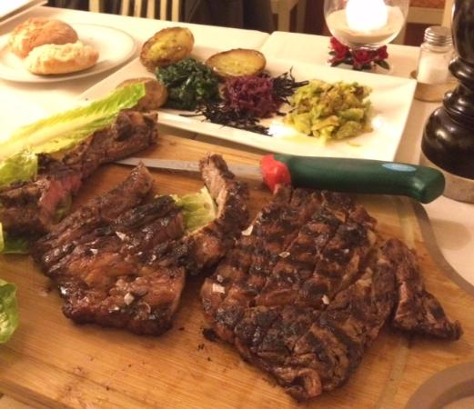 Hotel La Rosetta: Steak to die for