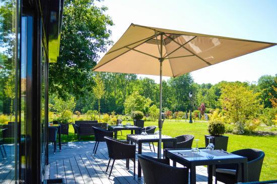 La terrasse du restaurant photo de le clos des vignes neuville bosc tripadvisor - Le clos des vignes neuville bosc ...