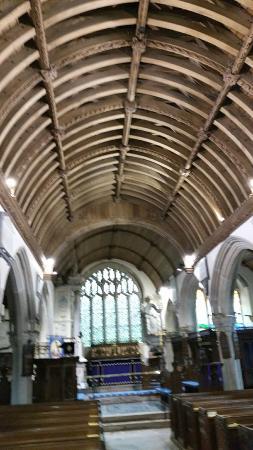St Werburgh's Church: church interior