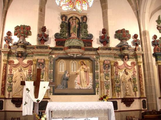 Courlay, France: Retable